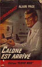 Alain Page's Calone - Art by Gourdon