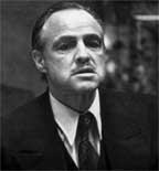 Marlon Brando as Mario Puzo's The Godfather (Don Vito Corleone)