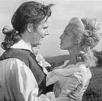 Jean Piat as Lagardere & Michele Grellier as Aurore in a 1967 TV adaptation