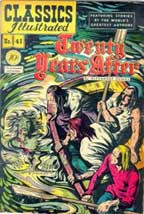 The Death of Mordaunt in Classics Illustrated
