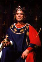 Georges Marchal as Philippe IV in Maurice Druon's Les Rois Maudits (TV Adaptation)