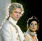 F.-E. Gendron as de Nossac & Anne Canovas as Lily in a 1982 TV adaptation