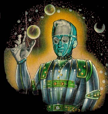 George Beyle, the man who terraformed Mars in Gerard Klein's Chirurgiens d'une Plan�te (1960); art by Brantonne